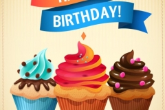 birthday-cupcakes-vector_23-2147490486